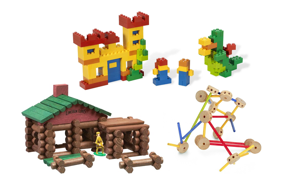 Lego Tinker Toys Amp Lincoln Logs Then Amp Now Toy Tales