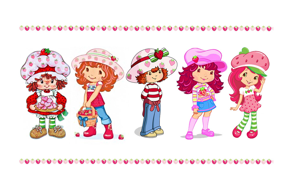 Then Now The 35 Year Evolution Of Strawberry Shortcake Toy Tales