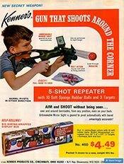 Kenner's Gun That Shoots Around The Corner