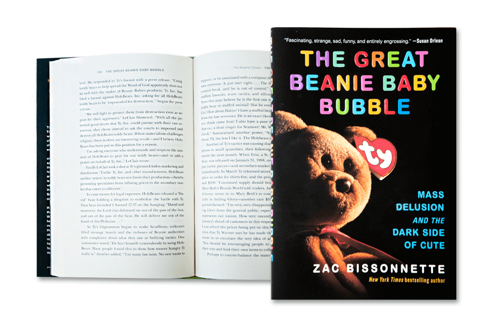488b8d9d014 The Great Beanie Baby Bubble  Mass Delusion and the Dark Side of Cute –  Books