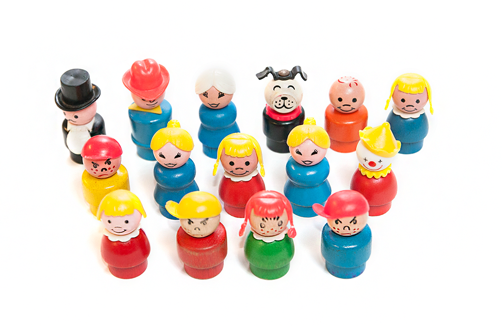 Little People from Fisher-Price (1959) | Toy Tales