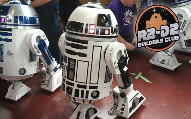 R2 Builders offered attendees tips on creating their own astromech droid building experience.