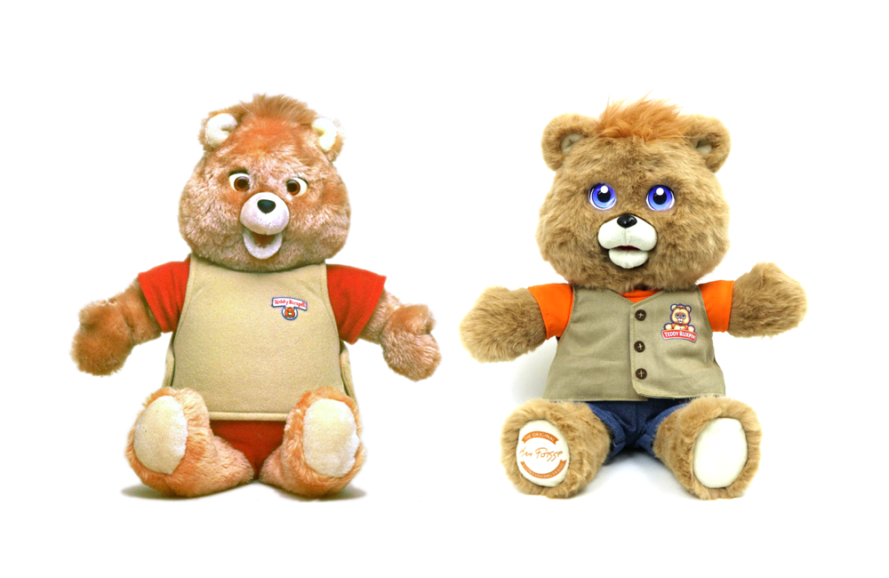 Then Now Teddy Ruxpin Toy Tales
