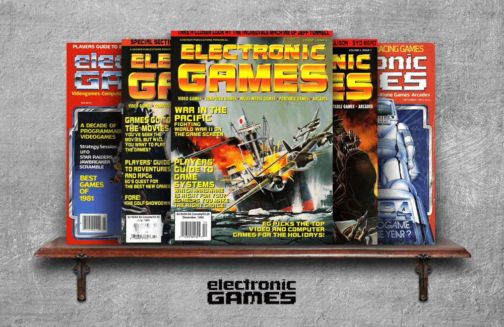 Electronic Games Magazine | Toy Tales