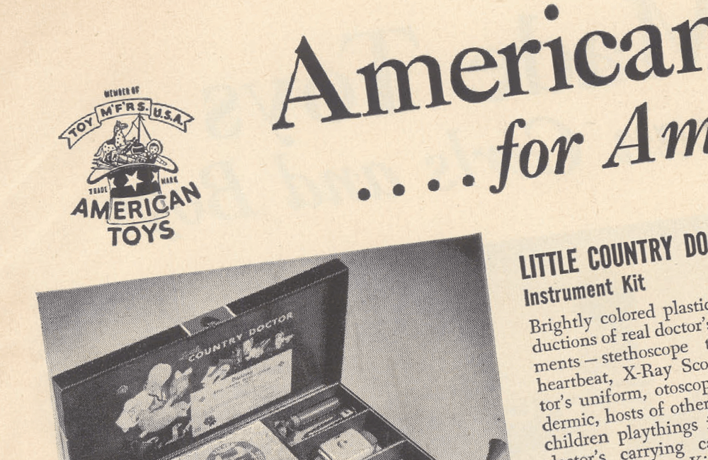 The Toy Manufacturers of the U S A  | Toy Tales